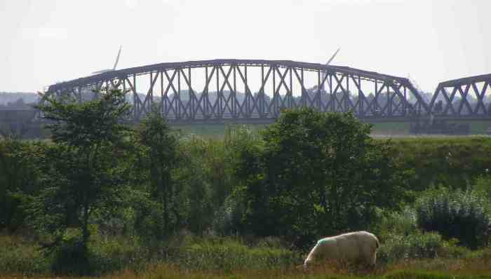 Friedrichstadt RR Bridge main span