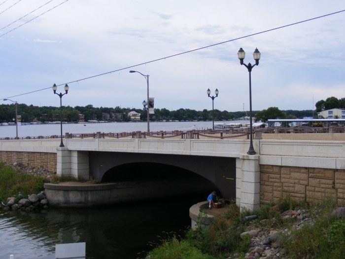 Okoboji Bridge today