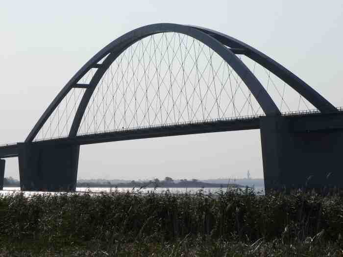 Fehmarn Bridge in Germany. Used as the new logo for the Bridgehunter's Chronicles. Photo taken in September 2014