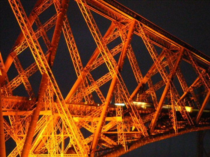 Forth Railroad Bridge in Scotland. Photo taken by Mark Watson