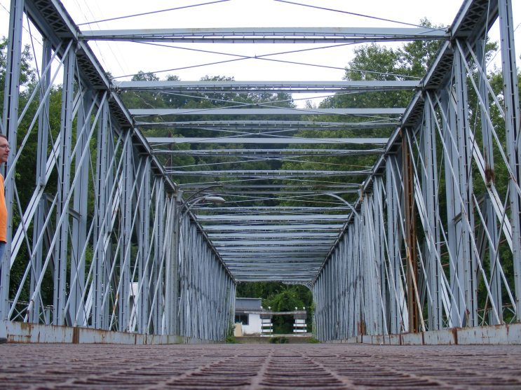 Meade Avenue Bridge in Meadville, PA  Photo taken in 2010