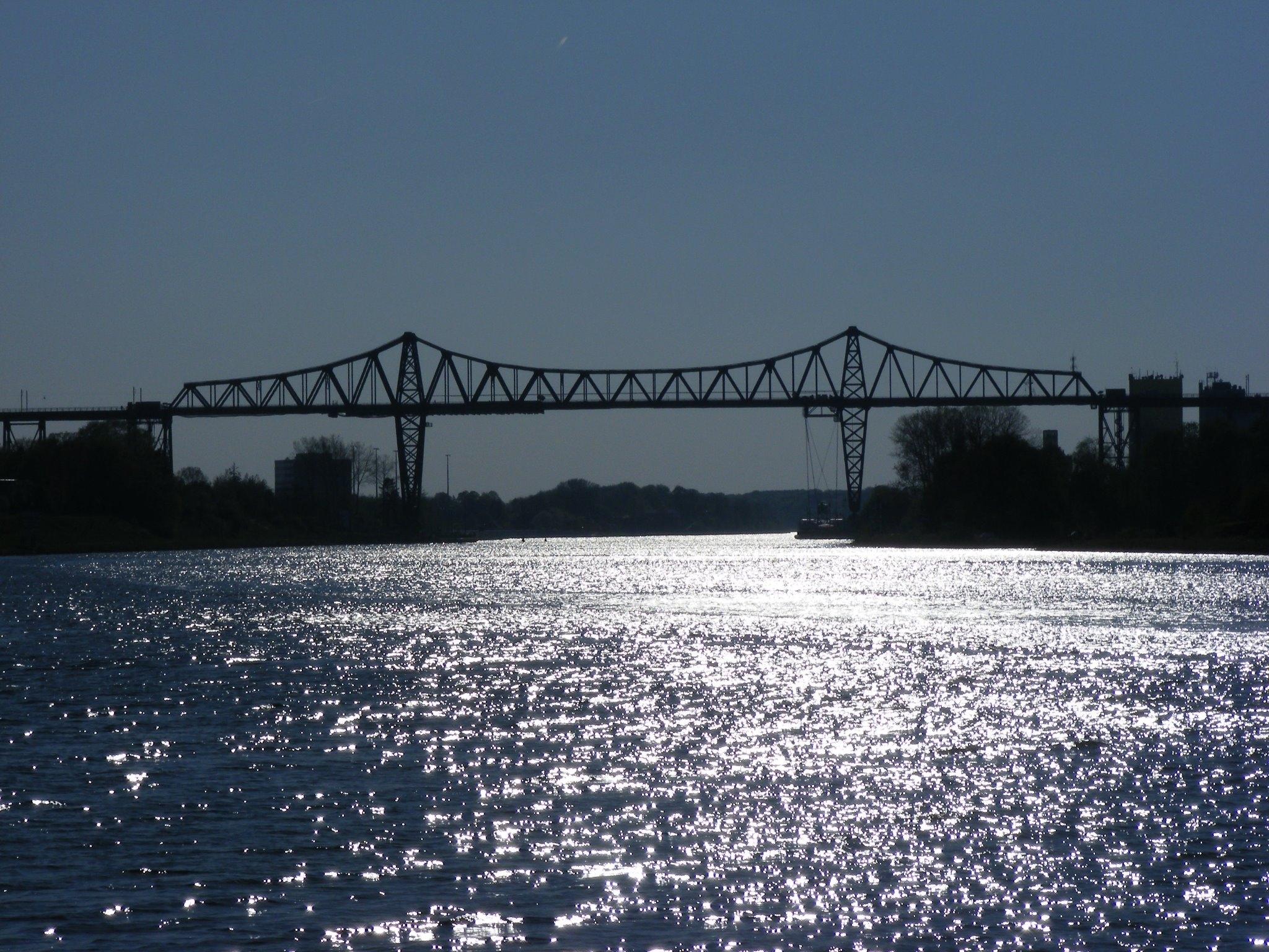Rendsburg Bridge side view