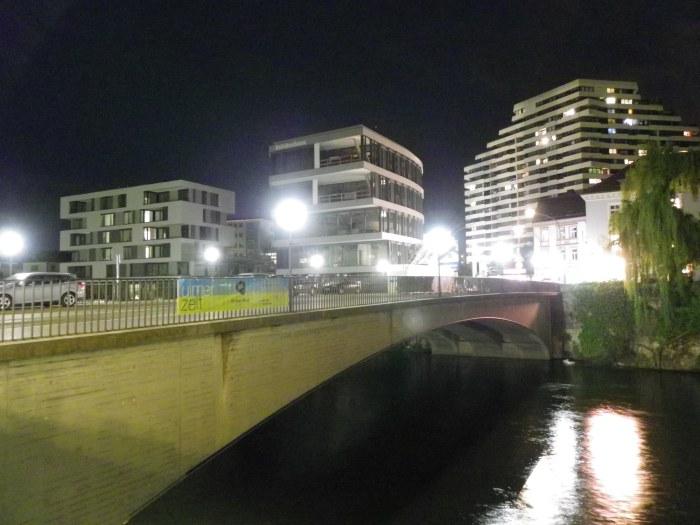 Herdbrücke with Neu-Ulm in the backrgound