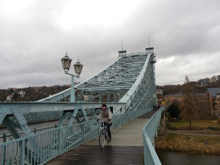 Blaue Wunder Brücke Dresden
