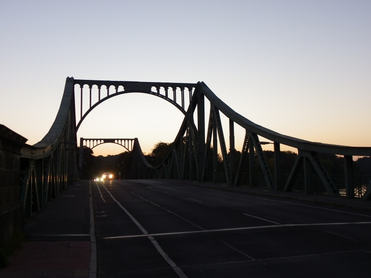 Glienicke Bridge near Berlin, Germany. Photo taken in October 2015