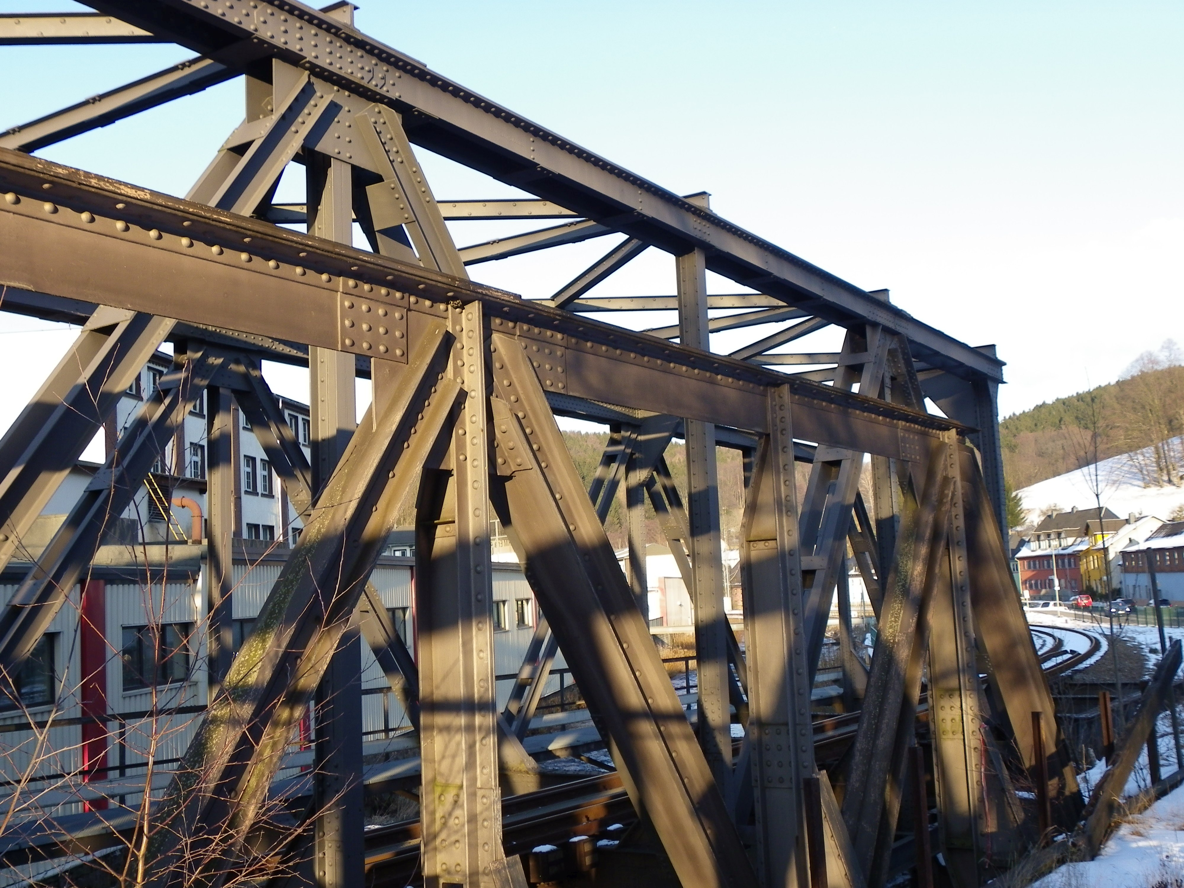 Erzgebirge The Bridgehunters Chronicles Warren Truss Bridge Diagram First Was Probably A What Did They Look Like Before 1945 When Were Two Bridges Built And In Case Of Pony Who Builder