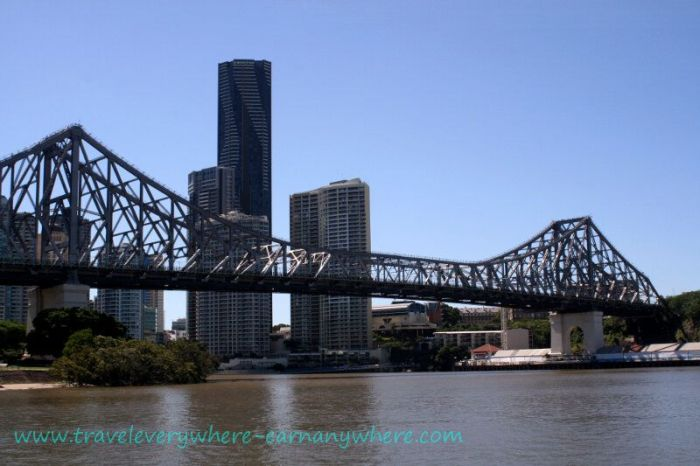 Story Bridge over the Brisbane River, Queensland, Australia