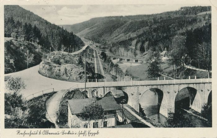 Historische Ansicht Rechenhausbrücke