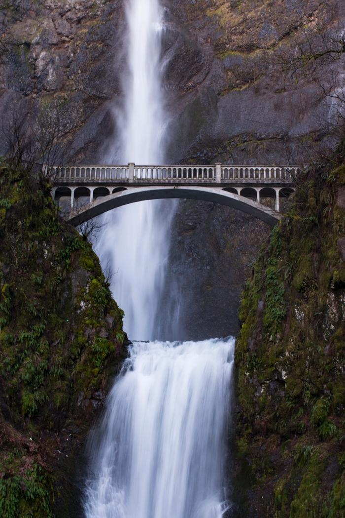 """""""Bridge over MultnomahFalls"""""""