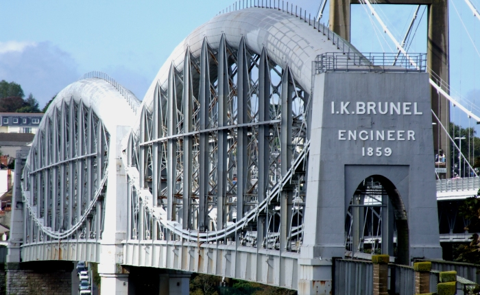 Lens Lens (Royal Albert Bridge, Plymouth-Saltash, Devon/Cornwall, UK)