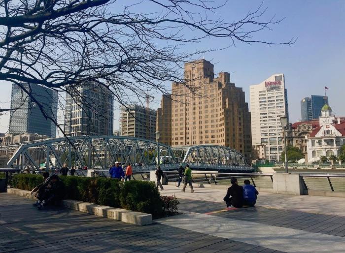 My 5: Waibaidu Bridge,Shanghai.