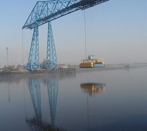 Big Blue (Tees Transporter Bridge, Middlesbrough,UK)
