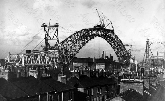 British Steel: Runcorn / Widnes Bridge, 1961