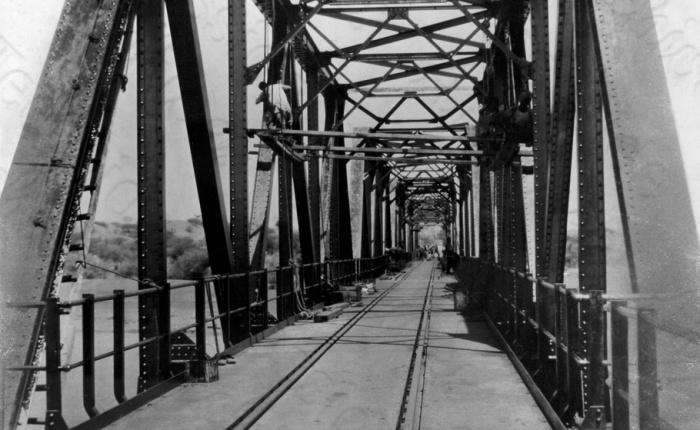 British Steel: Abu-Deleig Railway Bridge,Sudan