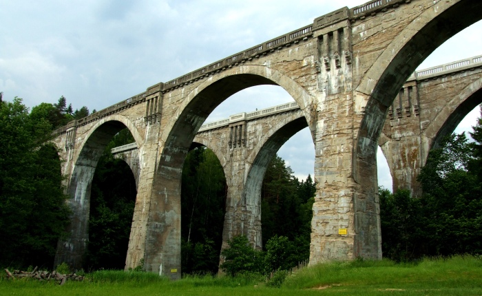 Stańczyki Viaducts:  this two abandoned overpasses are among the largest bridges inPoland!