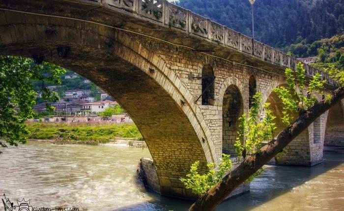 Gorica Bridge in Berat, Albania, and its curiouslegends.