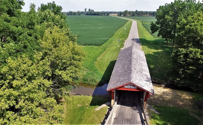 Union County, Ohio – August 2020 – Droning on AboutBridges