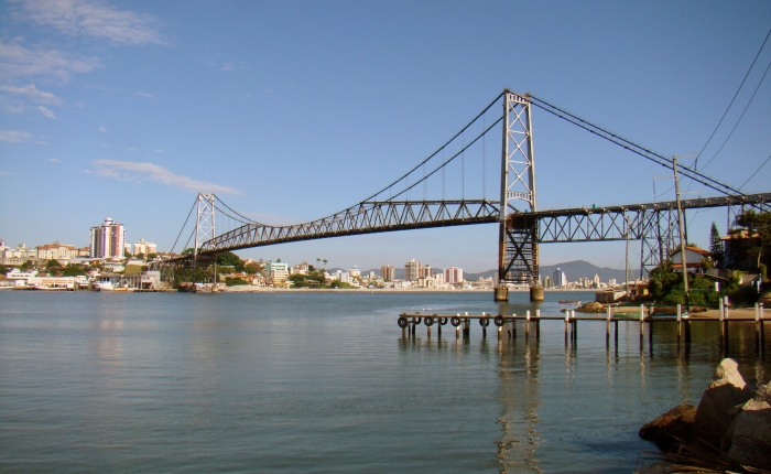 1922: The Longest Suspension Bridge in Brazil (and South America) Starts BeingBuilt