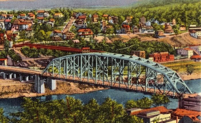 The Debut of a Well-Lit Bridge across the DelawareRiver